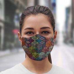 Mascarilla Higiénica reutilizable Mosaic-Daad