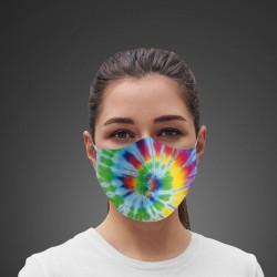 Mascarilla Higiénica reutilizable Rainbow Tie-dye
