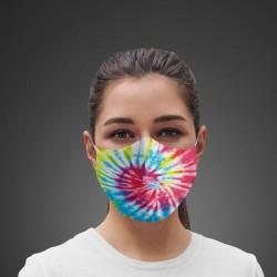Mascarilla Higiénica reutilizable Swirl Tie-dye