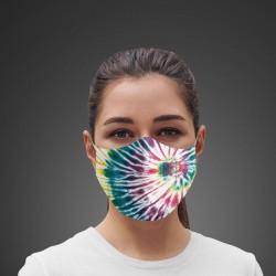 Mascarilla Higiénica reutilizable Hippie Tie dye