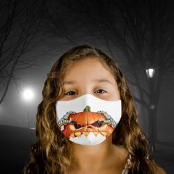 Mascarilla Infantil - Halloween - Calabaza
