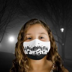 Mascarilla Infantil - Halloween - Sombras