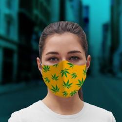 Mascarilla cannabis mostaza